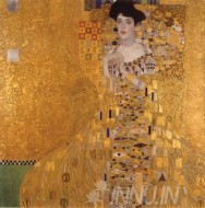 Fine art  - Portrait of Adele Bloch-Bauer I by Artist Gustav Klimt