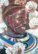 Fine art  - Masai Women, Kenyaby ArtistAnu J Rajan
