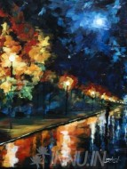Fine art  - After the Rainby ArtistMukesh. M