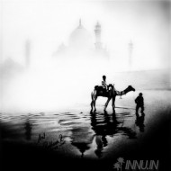 Fine art  - Tajmahal Scenary by Artist Ratheesh R