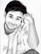 Fine art  - Jishnu Pencil Sketch by Artist Ratheesh R