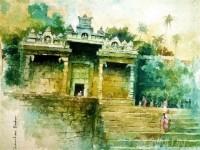 Fine art  - Thirparappuby ArtistShankar Babu