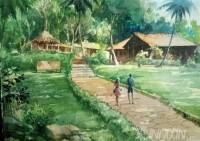 Fine art  - Somatheeram1by ArtistShankar Babu