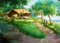 Fine art  - Somatheeram2by ArtistShankar Babu