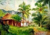 Fine art  - Morning Walkby ArtistShankar Babu