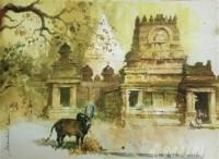 Fine art  - Kailasa Nathar Templeby ArtistShankar Babu