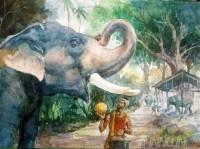 Fine art  - Big Feedsby ArtistShankar Babu