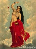 Fine art  - Tilottamaby ArtistRaja Ravi Varma
