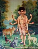 Fine art  - Dattatreyaby ArtistRaja Ravi Varma