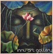 Fine art  - Buddha Faceby ArtistHari Kumar