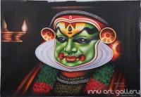 Fine art  - Kathakali Faceby ArtistPrakash K Payyannur
