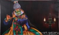 Fine art  - Kathakaliby ArtistPrakash K Payyannur