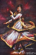 Fine art  - Kathak Dancerby ArtistHari Kumar