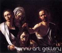 Fine art  - Salome with the Head of John the Baptist by Artist Caravaggio