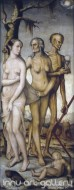 Fine art  - The Three Ages of Man and Death by Artist Hans Baldung