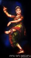 Fine art  - Bharatanatyam                                       by ArtistHari Kumar