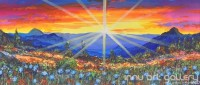 Fine art  - The Sun Rise by Artist Martin