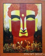Fine art  - The Buddha 2by ArtistKankana Pala