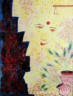 Fine art  - The Krishna 2 by Artist Kankana Pala