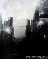 Fine art  - The City18 by Artist Kankana Pala